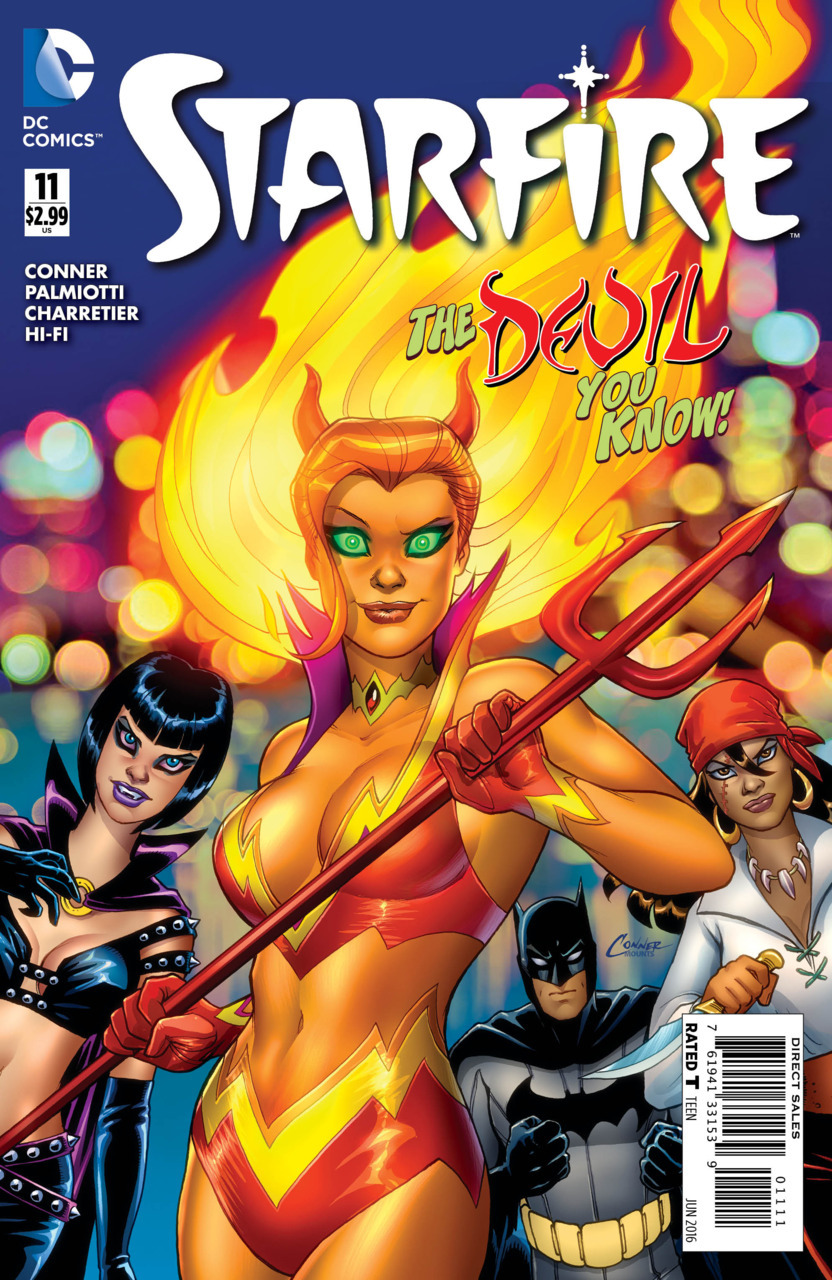 Starfire, DC Comics