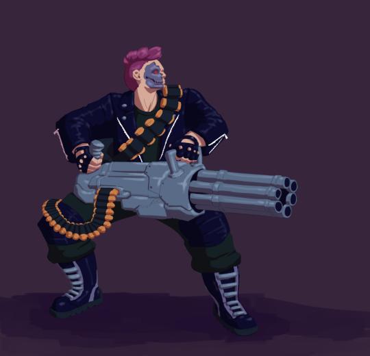 Terminator Zarya by @h-selene